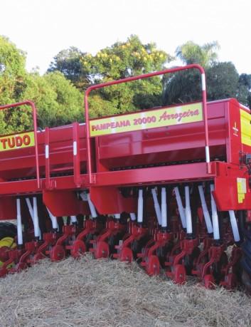 Sembradora grano fino Pampeana 20000, 24 líneas, mecánica
