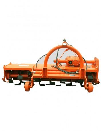 Cultivador rotativo con desplazamiento lateral