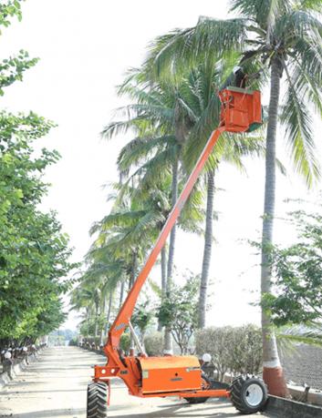 Plataforma autopropulsada - elevación 8 m