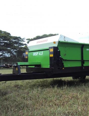 Esparcidor de compost 4.5 m3 - 3 t