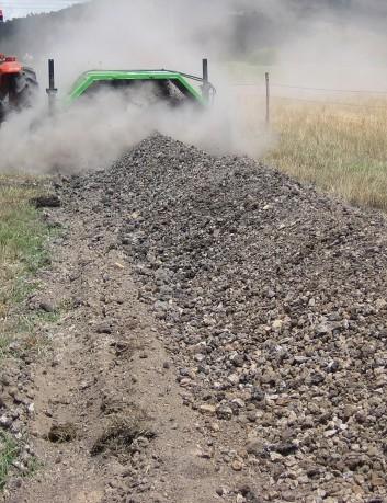 Volteadora de compost 2.2 m
