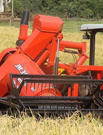 Cosechadora de granos JM 390G - Maíz