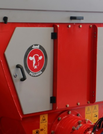 Vagón mezclador JMIX, 7 m3